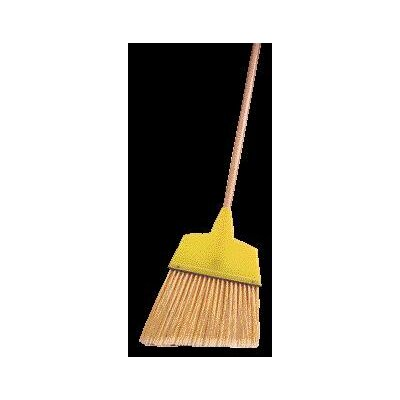 "Weiler Large Angle Broom With 7 1/2"" - 5 3/4"" Flagged Plastic Fill"