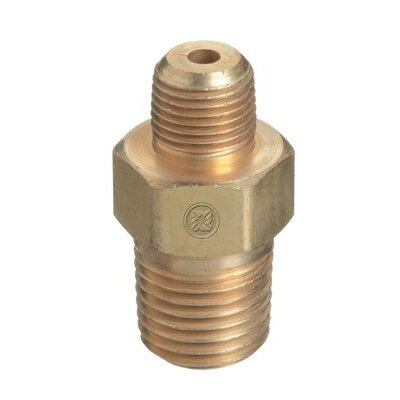 Western Enterprises Pipe Thread Reducer Bushings - npt bushing 3/8m x 1/2m