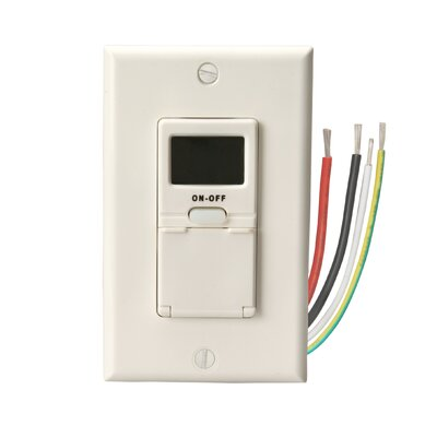 Woods Wire In-Wall 7-Day Digital Programmable Timer