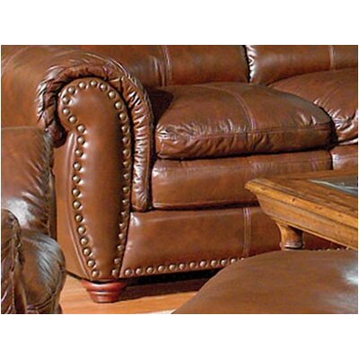 Leather Italia U.S.A. Aspen Leather Sofa