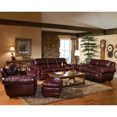 Leather Italia U.S.A. Aspen Living Room Collection