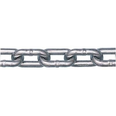 Peerless Chain Company Peerless - Grade 30 Proof Coil Chains 5.5Mm Pc 400Ft/Dr Zinc: 005-5011134 - 5.5mm pc 400ft/dr zinc