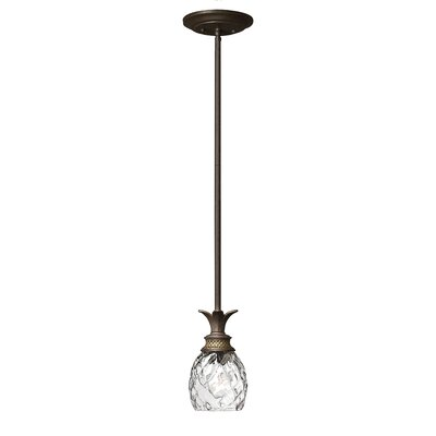 Hinkley Lighting Plantation 1 Light Mini Pendant