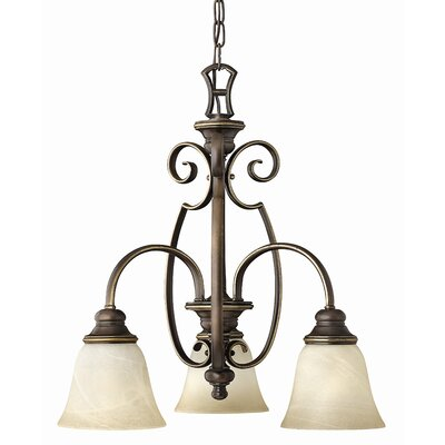 Hinkley Lighting Cello 3 Light Mini Chandelier