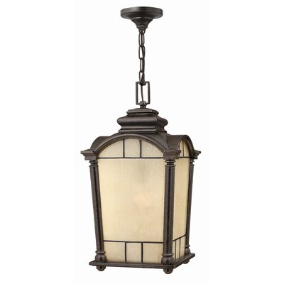 Hinkley Lighting Wellington Hanging Lantern in Regency Bronze