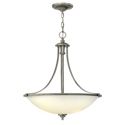 Truman 4 Light Invert Foyer Inverted Pendant