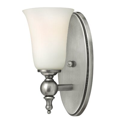 Hinkley Lighting Yorktown 1 Light Wall Sconce with Etched Opal Glass