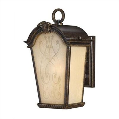 "Hinkley Lighting Orleans  13.5""x7.5"" Outdoor Wall Lantern in Regency Bronze"