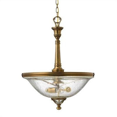 Knickerbocker 3 Light Inverted Pendant