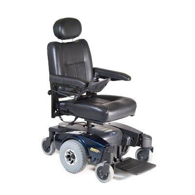 Invacare Pronto M51 Power Wheelchair with Captain's Base