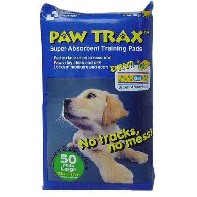 Paw Trax Pet Training Pads - 50 Count