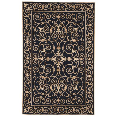 Safavieh Chelsea Black Iron Gate Rug