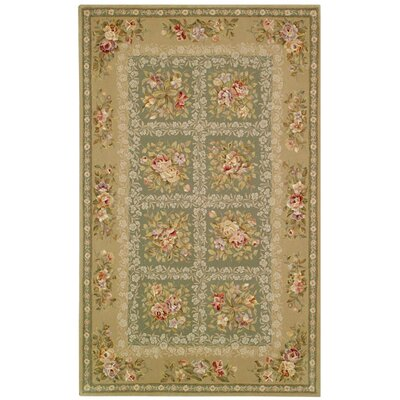 Safavieh French Tapis Green/Sand Rug