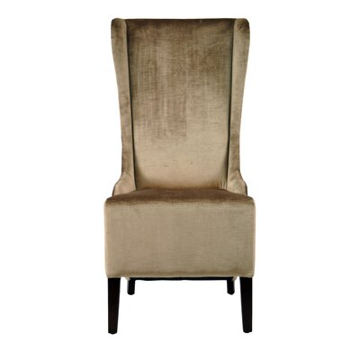 Safavieh Deco Bacall Faux-Silk Velvet Wing Chair