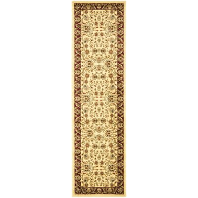 Safavieh Lyndhurst Cream/Red Rug