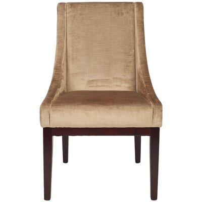 Safavieh Dark Velvet Wing Chair