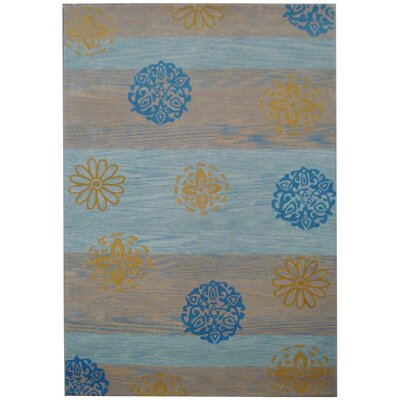 Soho Blue/Multi Stripe Rug