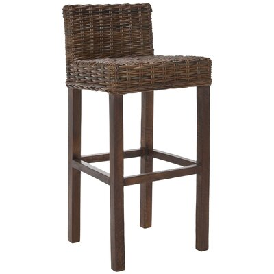 Carissa Bar Stool in Cappuccino