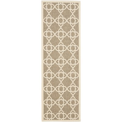 Safavieh Courtyard Brown / Beige Rug