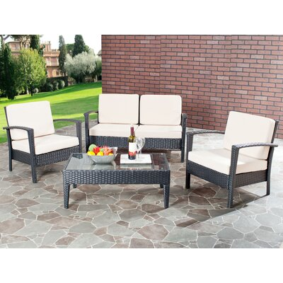 Watson 4 Piece Seating Group with Cushions