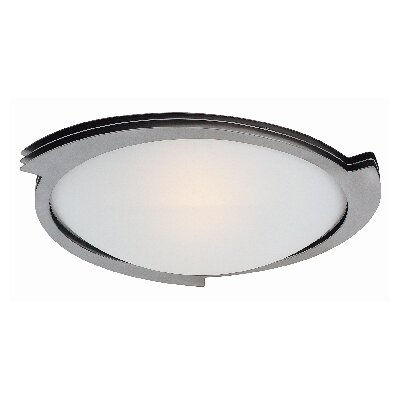 Access Lighting Triton 1 Light Flush Mount