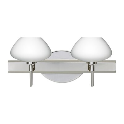 Besa Lighting Peri Two Light Bath Vanity