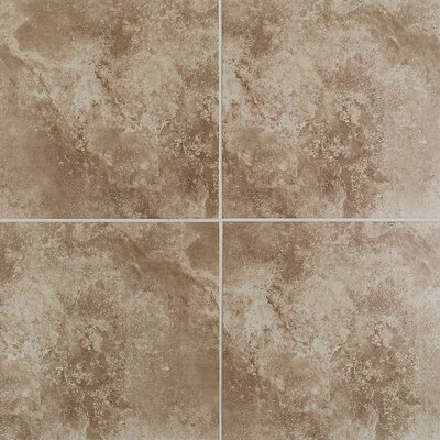 "Mohawk Flooring Casa Loma 13"" x 13"" Floor Tile in Brown Velvet"