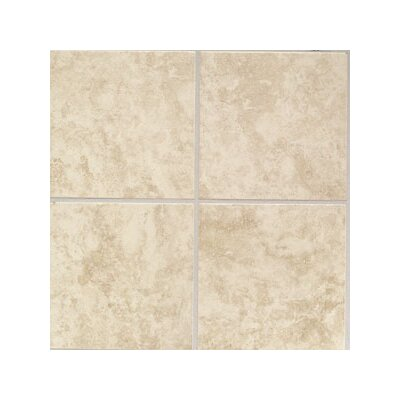 "Mohawk Flooring Ristano 6"" x 6"" Wall Tile in Crema"