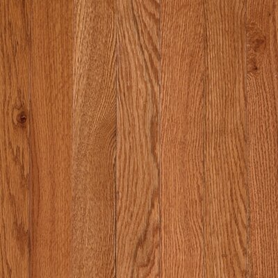 "Mohawk Flooring Lineage Rivermont 2-1/4"" Solid Oak Flooring in Butterscotch"