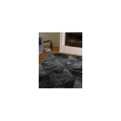 Bowron Sheepskin Rugs Shortwool Black Design Rug