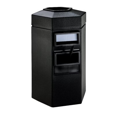 Commercial Zone 35 Gallon Large Island Convenience Center in Black