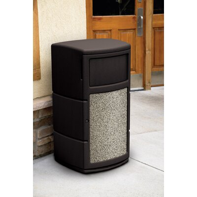 Commercial Zone Side Entry Waste Container