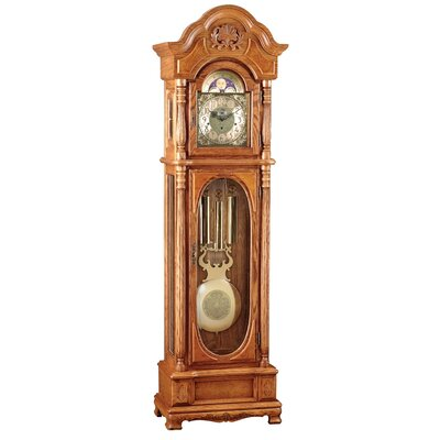 Grandfather Clock in Classic Oak
