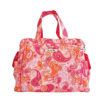 Ju Ju Be Be Prepared Diaper Bag in Perfect Paisley