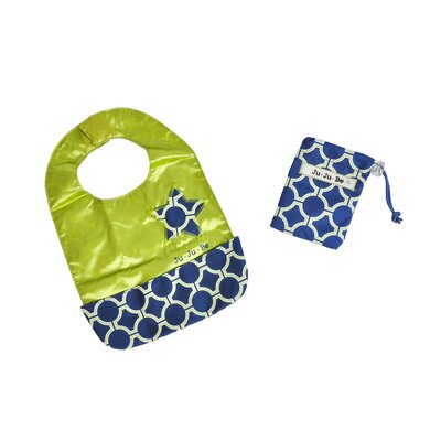 Ju Ju Be Be Neat Reversible Baby Bib in Royal Envy