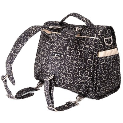 Ju Ju Be BFF Messenger / Backpack Diaper Bag in Lotus Lullaby