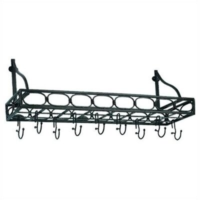 Old Dutch International Bookshelf Pot Rack