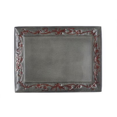 Old Dutch International Art Nouveau Rectangular Serving Tray