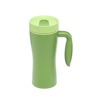 Recycled and Recyclable Travel Mug in Green
