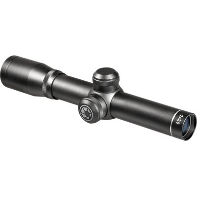 2.5x20 Compact Contour Riflescope, Black Matte, 30/30 Reticle