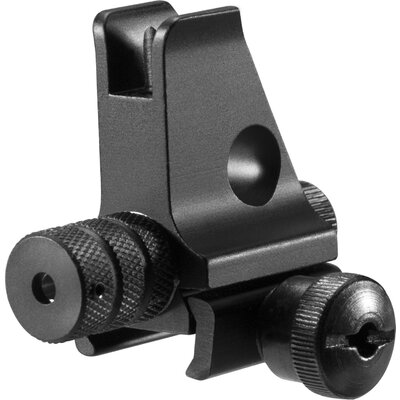 Front Sight with Integrated Red Laser Sight