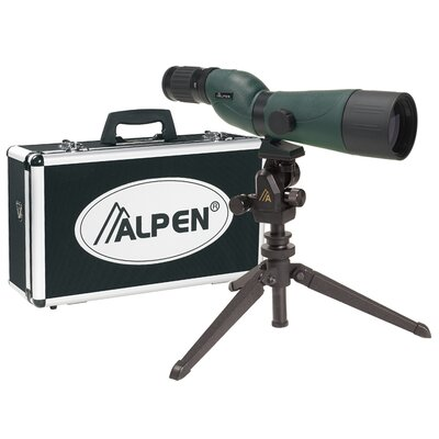 Alpen Outdoor 20-60x60 Waterproof Spotting Scope Kit