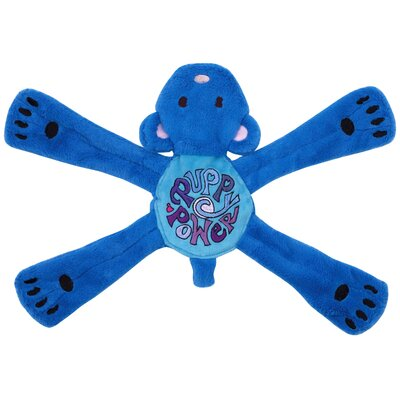 Doggles Hippie Pentas Dog Toy in Blue
