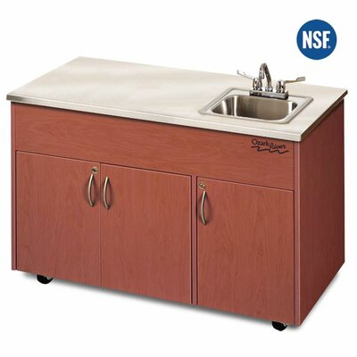 Ozark River Portable Sinks Silver Advantage Single Bowl Portable Sink