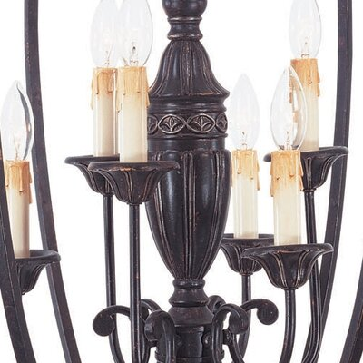 Savoy House Bedford 6 Light Foyer Pendant