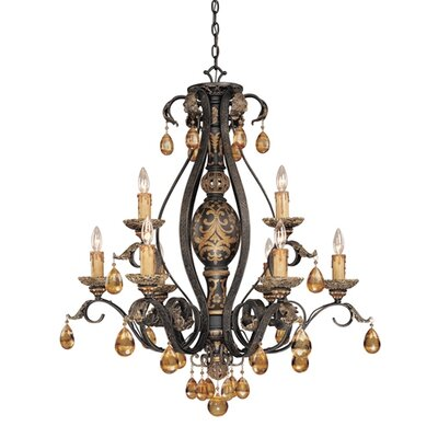 Savoy House Eldora 9 Light Chandelier