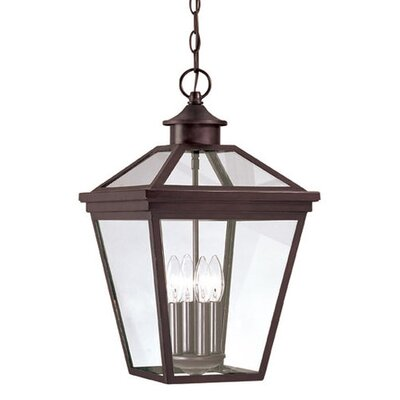 Savoy House Ellijay 4 Light Outdoor Hanging Lantern