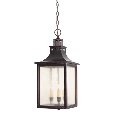 Savoy House Monte Grande 3 Light Outdoor Hanging Lantern