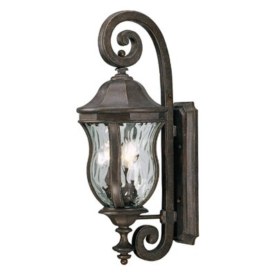 Savoy House Monticella 28&quot; x 10.13&quot;  Outdoor Wall Lantern in Walnut Patina