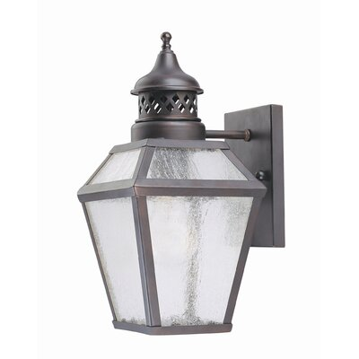 Savoy House Chimnea 1 Light Outdoor Wall Lantern